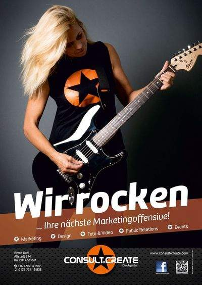 Wir rocken Ihre nächste Marketing-Offensive...